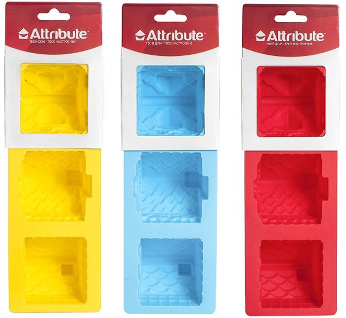 Форма для кексов Attribute Домик, 3 шт. ABS208ABS208