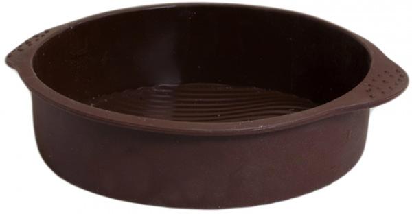 Форма для выпечки Attribute ChocolateAFS029Форма для выпечки Attribute Chocolate выполнена из высококачественного 100% пищевого силикона. Идеально подходит для приготовления выпечки, десертов и холодных закусок. Форма обладает естественными антипригарными свойствами и не выделяет вредных веществ при высоких температурах. Такая форма для выпечки займет достойное место на вашей кухне. Диаметр (по верхнему краю): 25 см.