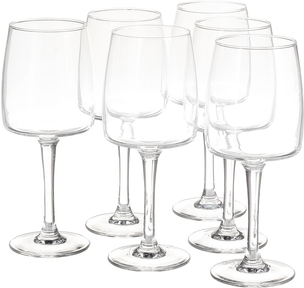 Набор бокалов для вина Luminarc Equip Home, 350 мл, 6 штJ1106Набор Luminarc Equip Home, выполненный из высококачественного стекла, состоит из 6 бокалов. Бокалы предназначены для подачи вина.Допускается мытье в посудомоечной машине. Стекло выдерживает резкий перепад температур до 135°С.Диаметр бокала (по верхнему краю): 6,3 см. Высота бокала: 20 см.