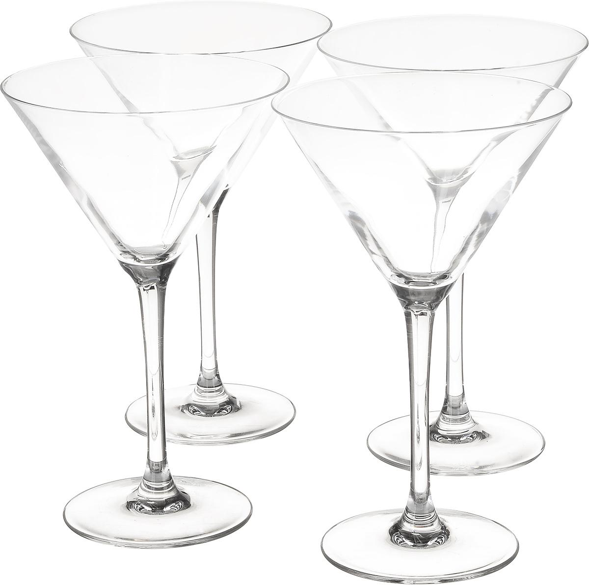 Набор бокалов для коктейля Luminarc World Cocktail, 300 мл, 4 шт набор бокалов для коктейлей luminarc домино 140 мл 4 шт