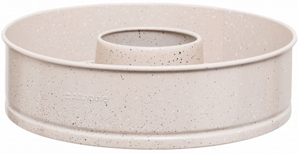 Форма для выпечки Attribute Stone, со съемным дном, диаметр 25 см. AFF066AFF066Форма Attribute Stone выполнена из углеродистой стали. Углеродистая сталь - это прочный, легкий и долговечный материал, который прекрасно проводиттепло, способствуя хорошему пропеканию вашей выпечки. Антипригарное внутреннее покрытие срифленой поверхностью гарантирует великолепный результат при приготовлении пирогов,запеканок и любой выпечки. Форма имеет съемное дно, благодаря чему готовое блюдо оченьлегко вынимать.