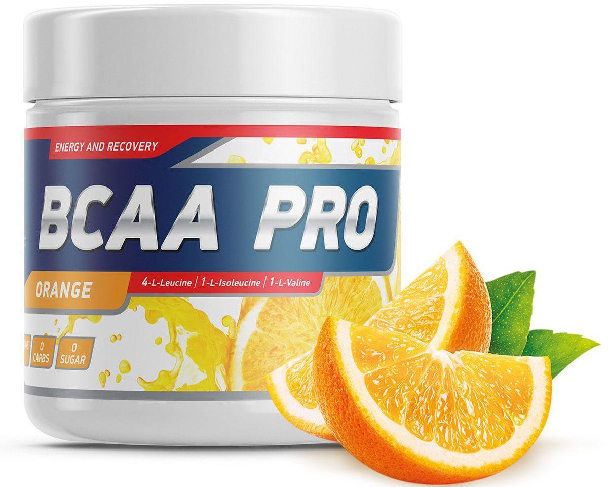 """Geneticlab """"BCAA Pro"""" - это современная спортивная добавка в основе которой лежат незаменимые аминокислоты ВСАА, глутамин и специально подобранная аминокислотная матрица, в оптимальном соотношении 4:1:1. BCAA Pro обеспечит энергией, улучшит обмен веществ, защитит мышцы от катаболизма и поможет избавиться от лишнего жира. Ваши тренировки станут интенсивнее и эффективнее."""