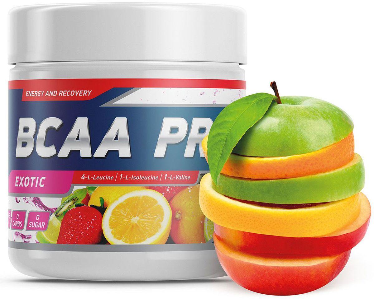 Аминокислоты Geneticlab BCAA Pro, экзотика, 250 г prolab bcaa prolab plus 180капс