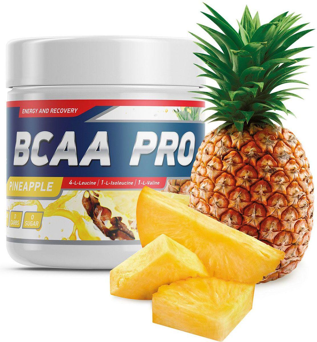 "Фото Аминокислоты Geneticlab ""BCAA Pro"", ананас, 250 г"