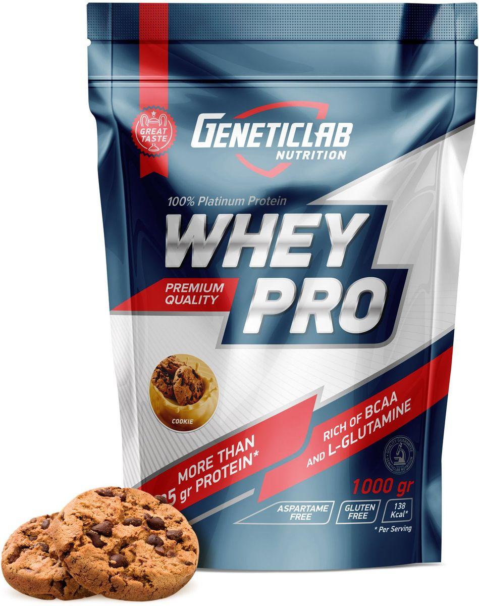 """Протеин сывороточный Geneticlab Nutrition """"Whey Pro"""", печенье, 1 кг"""