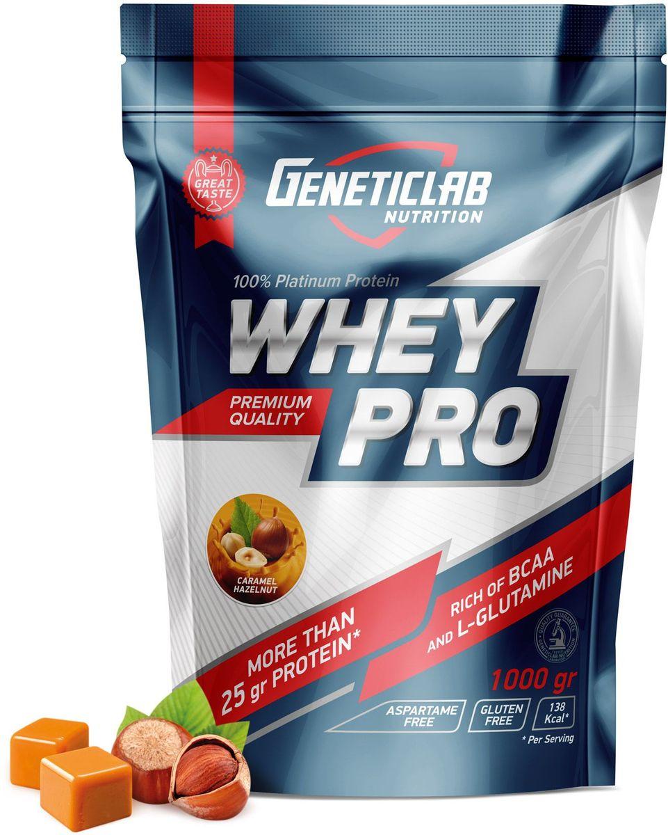 Протеин сывороточный Geneticlab Nutrition Whey Pro, карамель, орех, 1 кг4156632Сывороточный протеин уже давно считается одним из лучших источников белка с очень высокой биологической ценностью.Сывороточный протеин от Geneticlab активизирует и усиливает метаболизм мышц и помогает поддерживать чистую мышечную массу.Как повысить эффективность тренировок с помощью спортивного питания? Статья OZON Гид