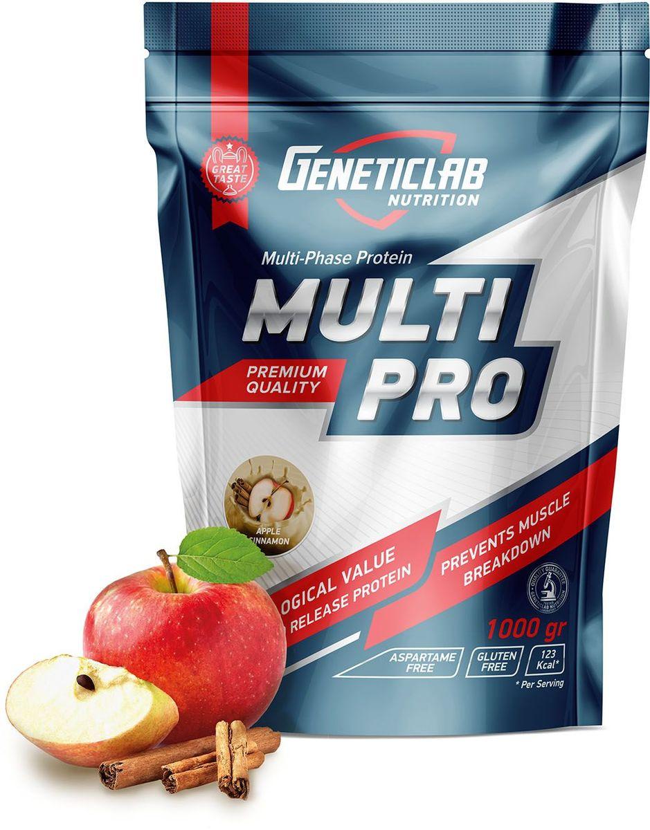 Протеин Geneticlab Multi Pro, яблоко, корица, 1 кг жиросжигатель geneticlab nutrition l carnitine яблоко 150 г