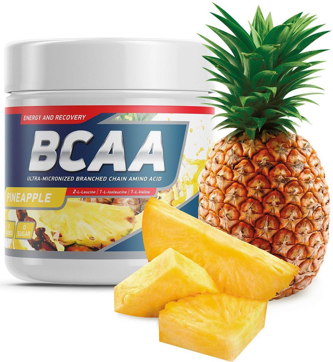 """Geneticlab """"BCAA 2:1:1"""" является высококачественной   спортивной пищевой добавкой, в состав которой входят   аминокислоты с разветвленными боковыми цепочками (BCAA),   в оптимальном соотношении 2:1:1. Препараты, содержащие   аминокислоты с разветвленными   боковыми цепочками, широко применяются атлетами,   особенно силовых видов спорта.BCAA обеспечит энергией, улучшит обмен веществ,   защитит мышцы от катаболизма и поможет избавиться от   лишнего жира. Ваши тренировки станут интенсивнее и   эффективнее.    Как повысить эффективность тренировок с помощью спортивного питания? Статья OZON Гид"""