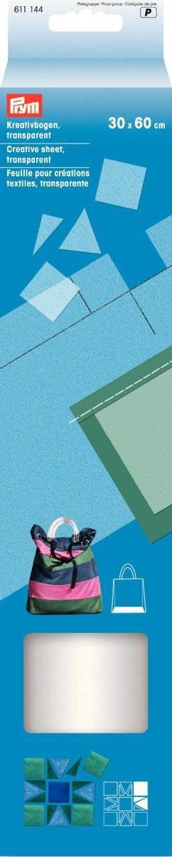 Лист трафаретный Prym, цвет: прозрачный, 30 х 60 см611144