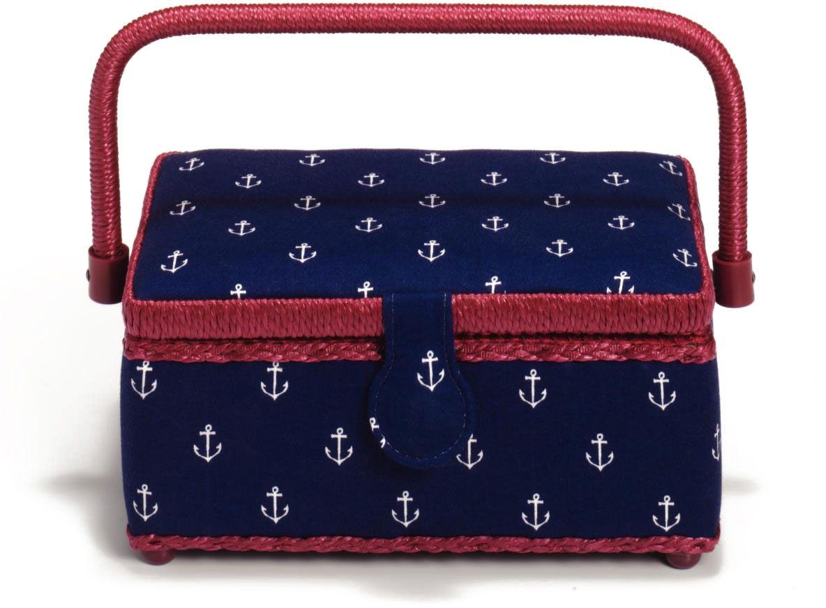 Шкатулка для рукоделия Prym Maritime, 26 х 21 х 12 см612133