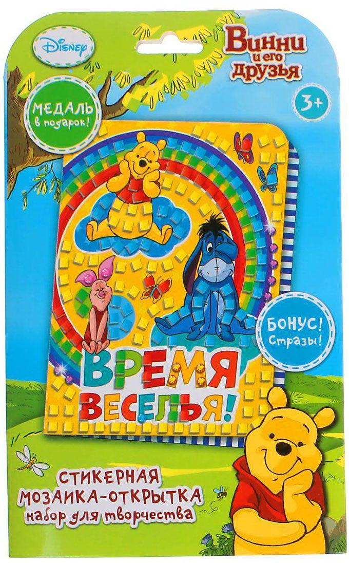 Disney Мозаика Медвежонок Винни и его друзья Время веселья disney гирлянда медвежонок винни и друзья