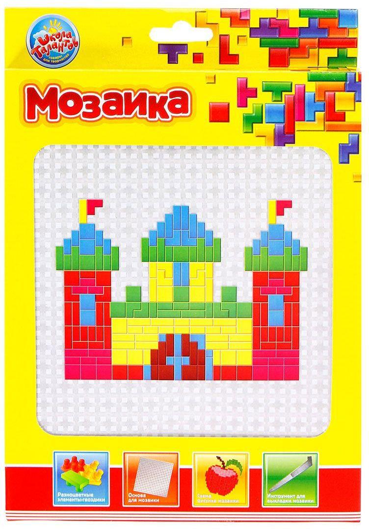 Школа талантов Мозаика Замок школа талантов гелевая мозаика веселый паровозик