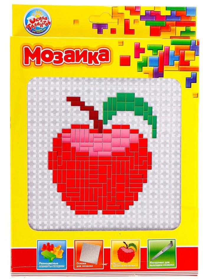Школа талантов Мозаика Яблочко школа талантов гелевая мозаика веселый паровозик