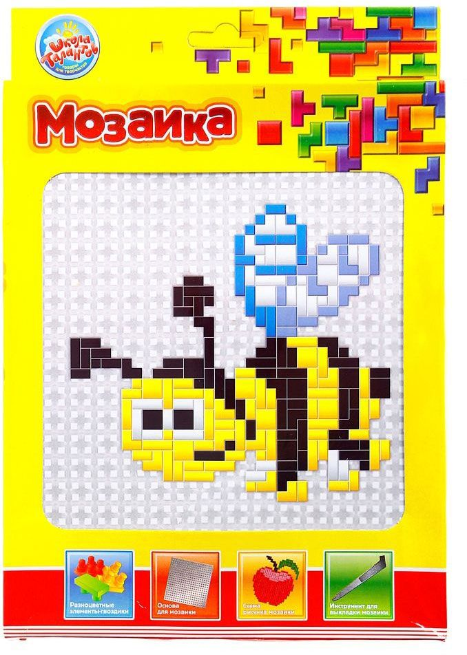 Школа талантов Мозаика Пчелка школа талантов гелевая мозаика веселый паровозик