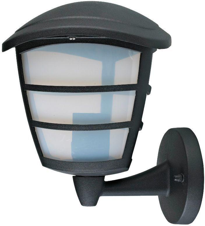 """Настенный садовый светильник Duwi """"Wien"""" (бра вверх) имеет стильный современный дизайн. Корпус выполнен из литого алюминия, устойчивого к коррозии. Рассеиватель изготовлен из пластика молочного цвета. Задняя крышка снабжена уплотнителем, который надежно защищает электропроводку от внешних воздействий. Изделие имеет монтажный разъем для легкого и быстрого подключения. Возможность использования с любыми лампами, имеющими цоколь E27 (накаливания, энергосберегающими, светодиодными). Светильник работает от сети 220 В, обладает высокой степенью пыле- и влагозащищенности IP44. Крепления, влагозащитные заглушки и кольца в комплекте.Светильники Duwi """"Wien"""" - идеальное решение для декоративного освещения летних домиков, беседок или садовых дорожек. Садово-парковые светильники под брендом DUWI изготавливаются в соответствии со строгими европейскими стандартами качества."""