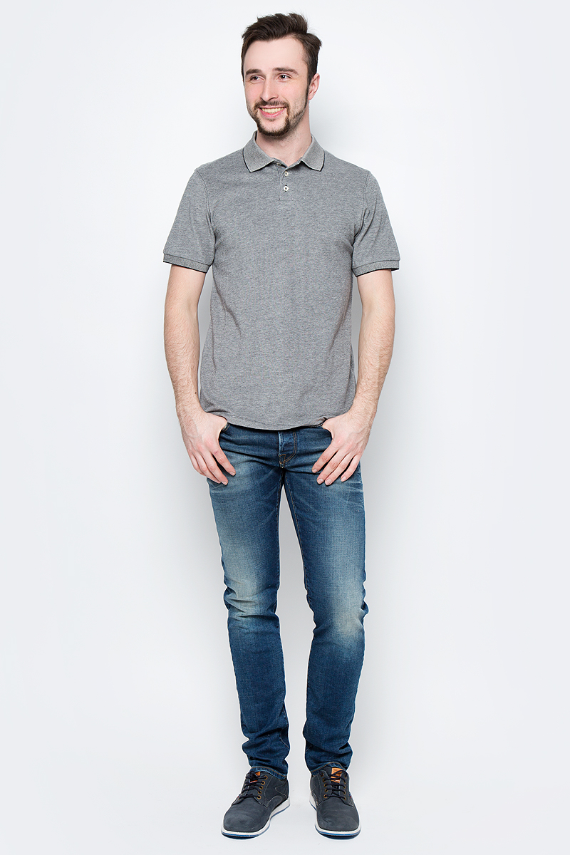 Рубашка мужская Lee, цвет: черный. L60TPY01. Размер L (50)L60TPY01