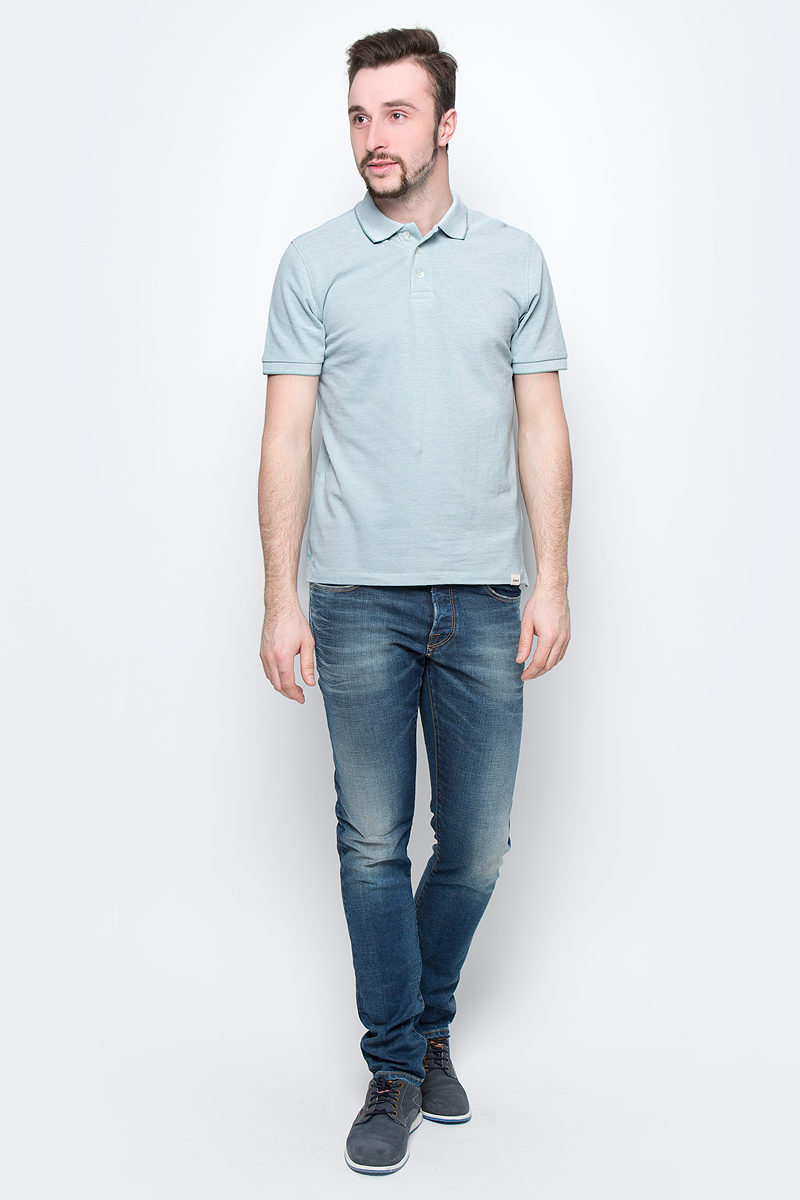 Рубашка мужская Lee, цвет: мятный. L60TPYSB. Размер L (50)L60TPYSB