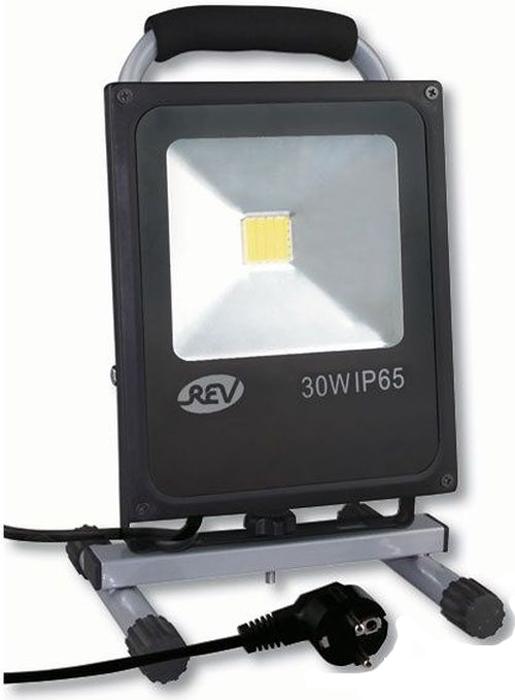 Прожектор светодиодный REV Ultra Slim, на подставке, провод 3 м, 30 W, 4000 К. 32314 3 3 rev 30 women
