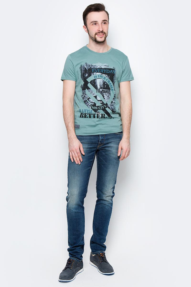Футболка мужская BeGood, цвет: серый. SS17-BGUZ-998. Размер 50 футболки begood футболка стрекоза цвет молочный m