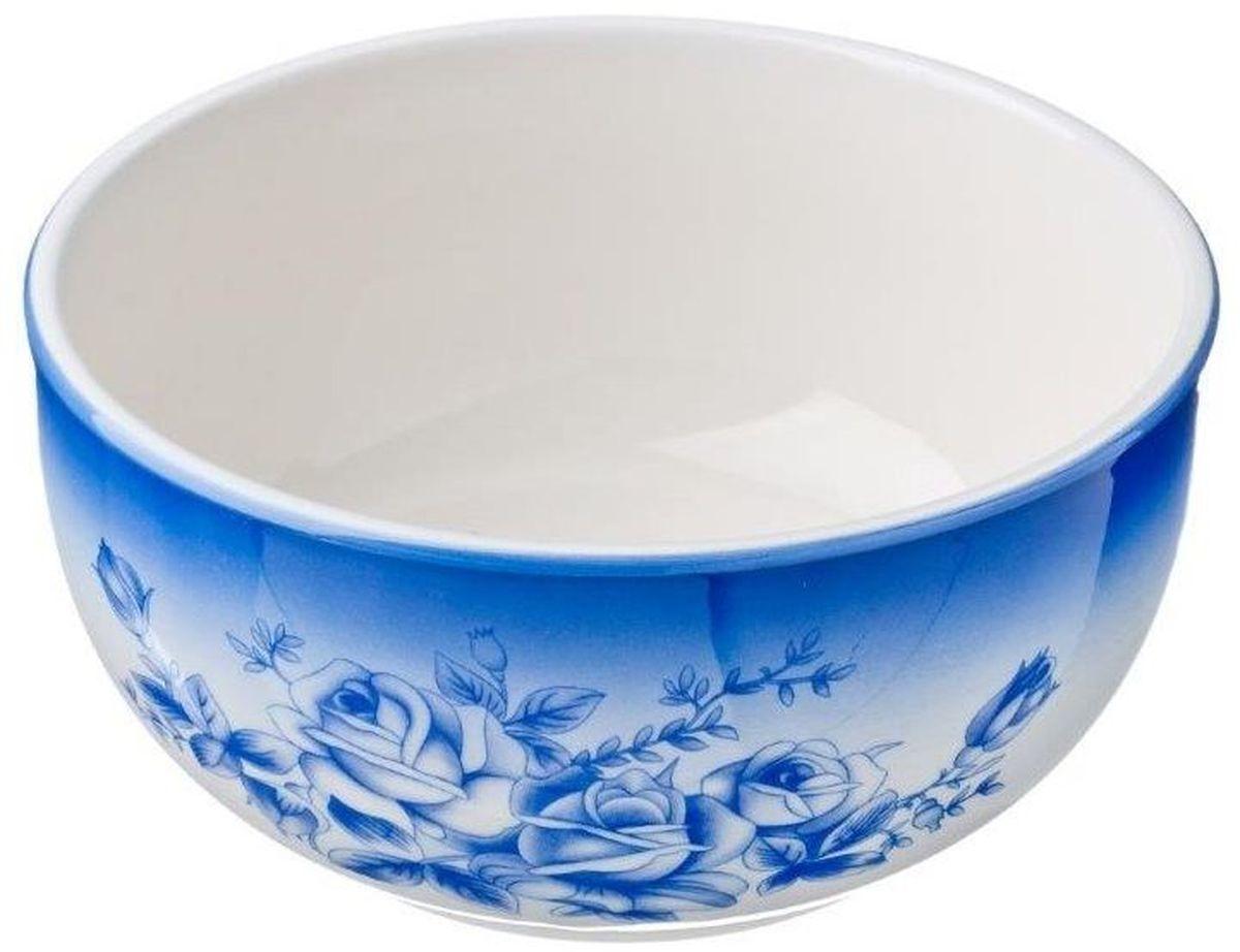 Салатник Vetta Народные мотивы, 580 мл824723Салатник Народные мотивы изготовлен из высококачественной керамики и декорирован цветочным изображением. Такой салатник отлично подойдет как для повседневного использования, так и для особых случаев. Благодаря качеству исполнения и красивому дизайну изделие станет отличным приобретением для вашей кухни.