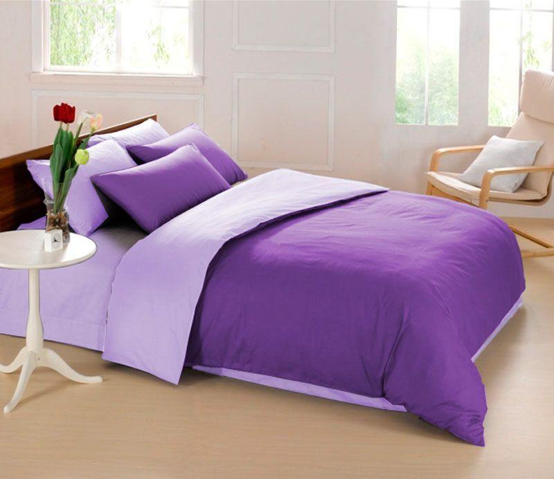 Комплект белья Sleep iX Perfection, 1,5-спальный, цвет: темно-фиолетовый, фиолетовый, наволочки 50х70, 70х70. pva215333pva215333Комплект постельного белья Sleep iX Perfection поможет вам расслабиться и подарит спокойный сон. Он состоит из пододеяльника, простыни и двух наволочек. Предметы комплекта выполнены из абсолютно гипоаллергенной микрофибры, неприхотливой в уходе.Благодаря такому комплекту постельного белья вы сможете создать атмосферу уюта и комфорта в вашей спальне.Размер пододеяльника: 150 х 220 см.Размер простыни: 160 х 220 см.Размер наволочек: 50 х 70 см и 70 х 70 см.Советы по выбору постельного белья от блогера Ирины Соковых. Статья OZON Гид