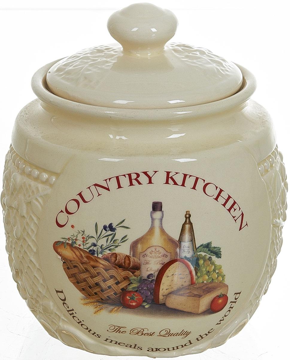 Банка для сыпучих продуктов Polystar Country Kitchen, 720 мл банка для сыпучих продуктов polystar прованс 850 мл