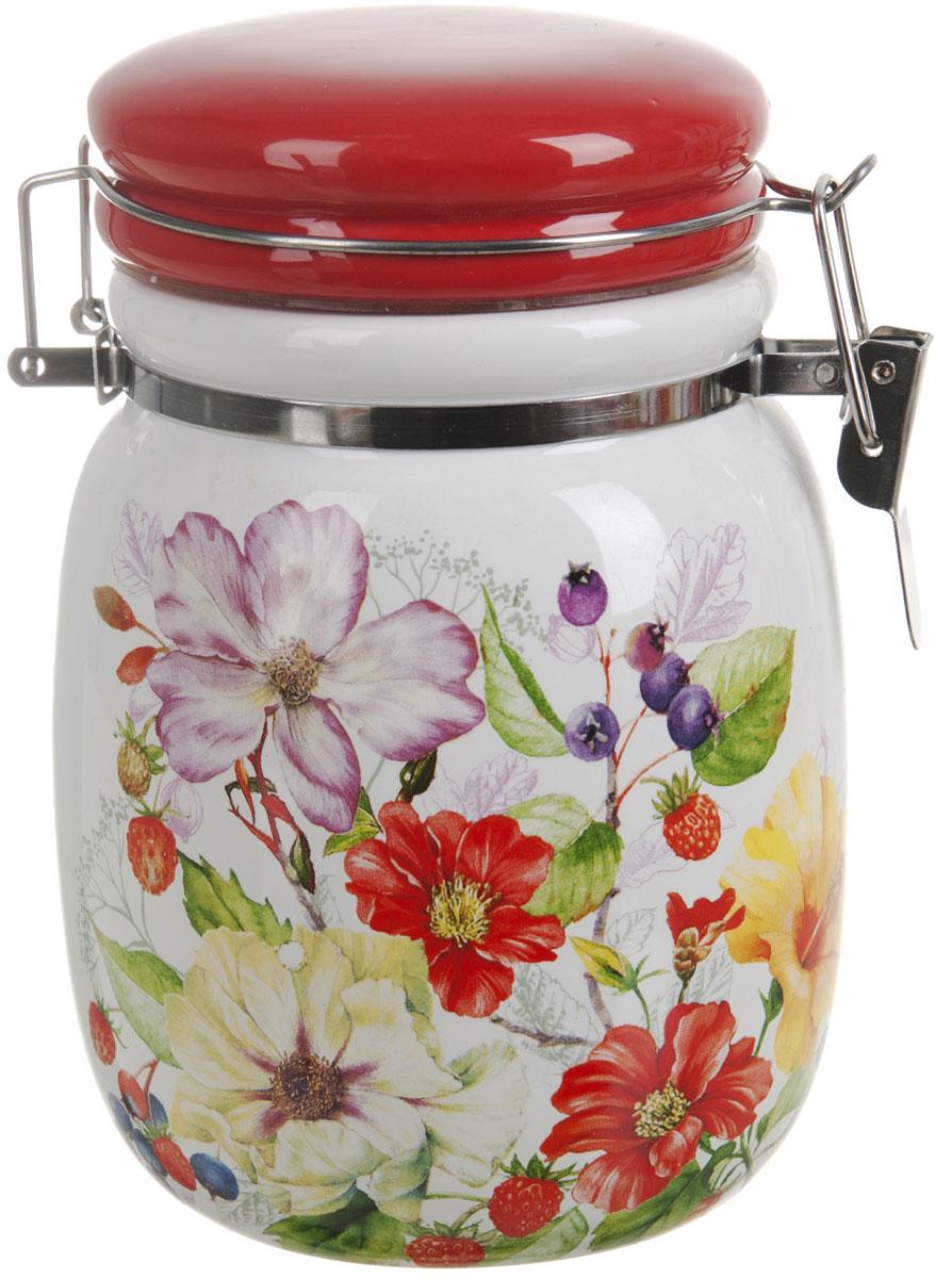 Банка для сыпучих продуктов Polystar Summer, 600 мл эко бутылка eau good с фильтром оливковая