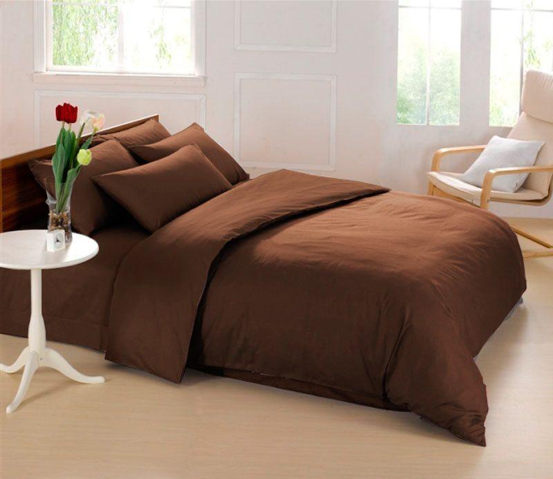 Комплект белья Sleep iX Perfection, 2-спальный, наволочки 70х70, цвет: темно-коричневыйpva215375Известно, что цвет напрямую воздействует на психологическое и физическое состояние человека. Коричневый - спокойный и сдержанный цвет. Вызывает ощущение тепла, способствует созданию спокойного мягкого настроения. Это цвет надёжности, прочности, здравого смысла.Состав материала: 100% микрофибра.