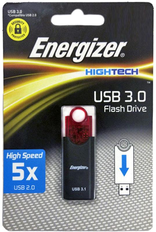 Energizer Push 16GB флэш-накопительFUS30H016RSФлэш-накопитель Energizer Push 16GB совместим как с портами USB 3.1 так и с портами USB 2.0. Идеально подходит для повседневного офисного и домашнего использования. В USB 3.1 быстрая передача фильмов, фотографий, музыки и файлов становиться нормой.