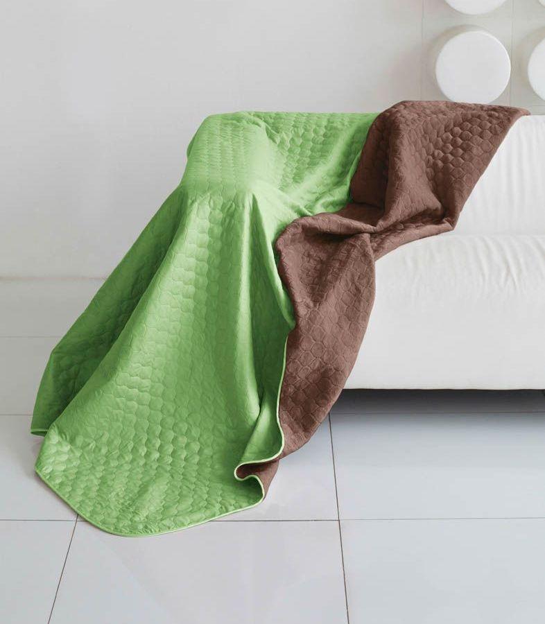Комплект для спальни Sleep iX Multi Set, 2-спальный, цвет: салатовый, коричневый, 6 предметов. pva221591pva221591Комплект для спальни Sleep iX Multi Set состоит из покрывала, простыни, 2 наволочек и 2 подушек. Верх многофункционального одеяла-покрывала выполнен из мягкой микрофибры, которая хорошо сохраняет тепло, устойчива к стирке и износу, а низ выполнен изискусственного меха. Этот мех не требует специального ухода, он легко чистится и долгое время сохраняет мягкость и внешний вид. Наволочки, простыня и чехлы подушек выполнены из микрофибры. Комплект для спальни Sleep iX Multi Set - это прекрасный способ придать спальне уют и привнести в интерьер что-то новое.Размер одеяла-покрывала: 180 х 220 см.Размер простыни: 230 х 240 см.Размер наволочек: 50 х 70 см. (2 шт)Размер подушек: 50 х 68 см. (2 шт)Наполнитель: Силиконизированное волокно.