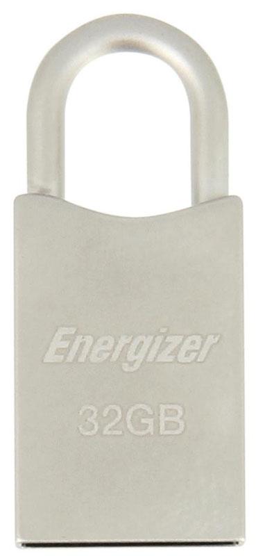 Energizer HighTech Metal 32GB флэш-накопительFUSMTH032RСтильный металлический флэш-накопитель USB 2.0 Energizer HighTech Metal идеально подходит для присоединения к связке ключей. Он не имеет подвижных частей, так что ваши фильмы, фотографии, музыка и файлы всегда будут с вами.