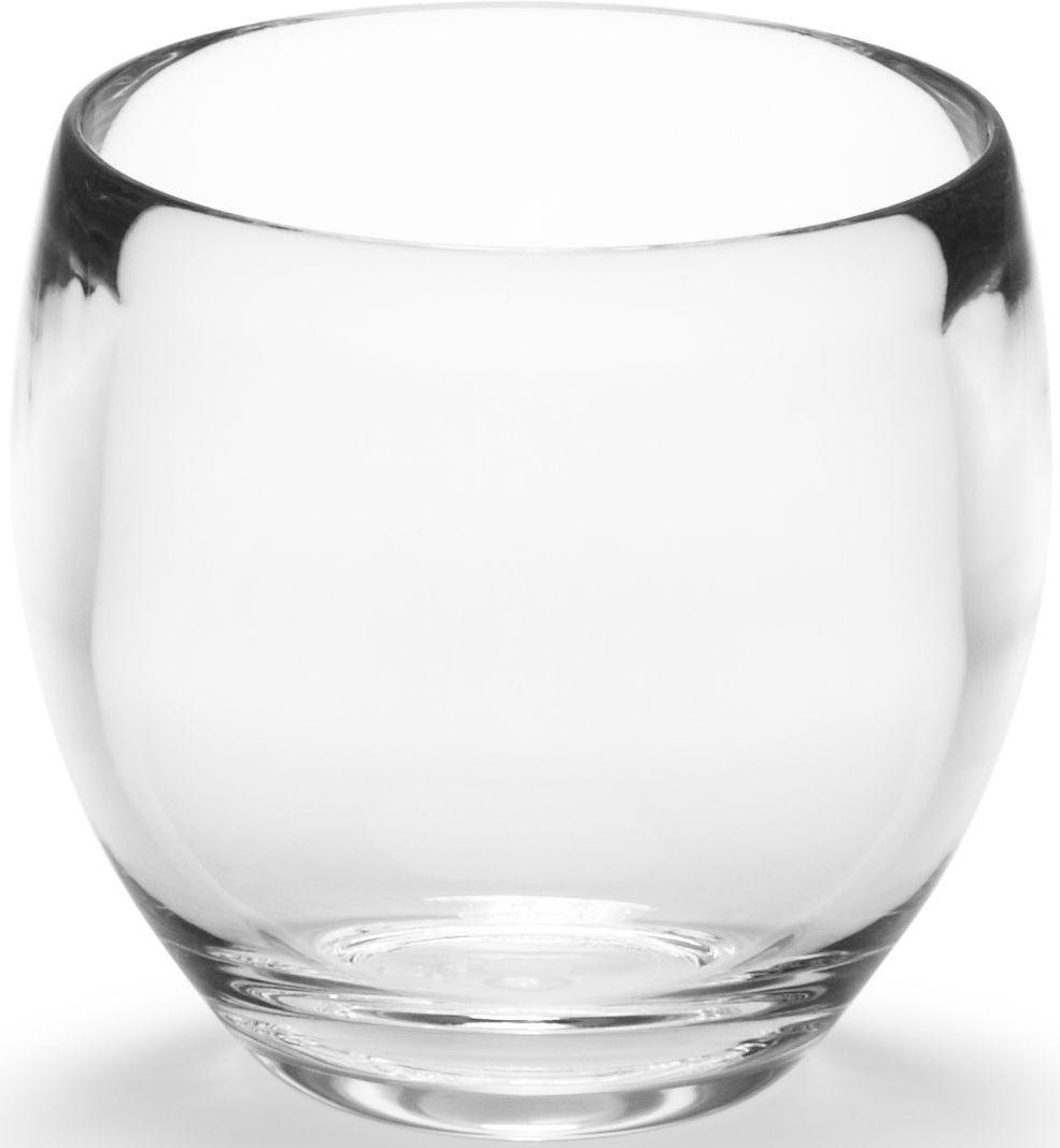 Стакан для ванной Umbra Droplet, цвет: прозрачный, 10 х 14 х 9 см стакан для ванной umbra touch цвет серый 10 х 7 х 7 см