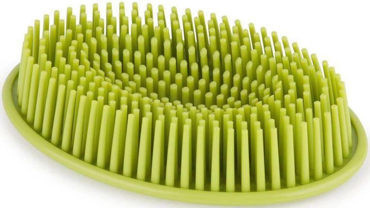 Мыльница Umbra Grassy, цвет: авокадо, 10 х 15 х 10 см020905-806Мыльница Umbra Grassy выполнена в оригинальном дизайне. Она имеет специальные ворсинки, которые надежно удерживают мыло и не дают ему соскальзывать в раковину. Такая эффектная и функциональная мыльница станет достойным украшением раковины в любой ванной комнате.Размеры: 10 х 15 х 10 см