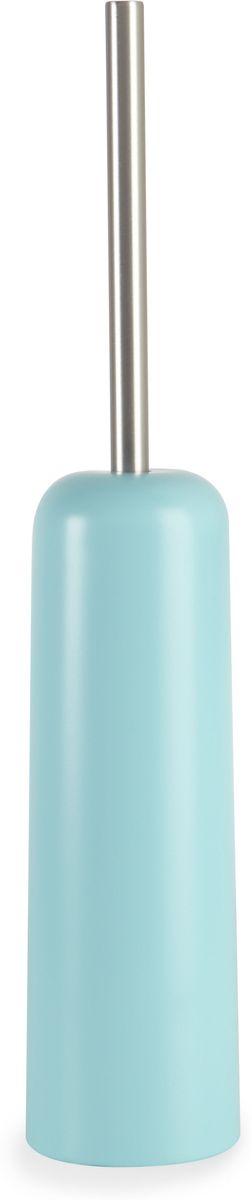Ершик туалетный Umbra Touch, цвет: морская волна, 10,4 х 43,7 х 10,4 см023274-276Функциональность туалетного ёршика неоспорима и всем понятна. А как насчет дизайна? В Umbra уверены: такой простой и ежедневно используемый предмет должен выглядеть лаконично, но необычно. Ведь в небольшой туалетной комнате не должно быть ничего вызывающе яркого. Немного экспериментировав с формой, дизайнеры создали ёршик Touch, который придется кстати в любом доме.