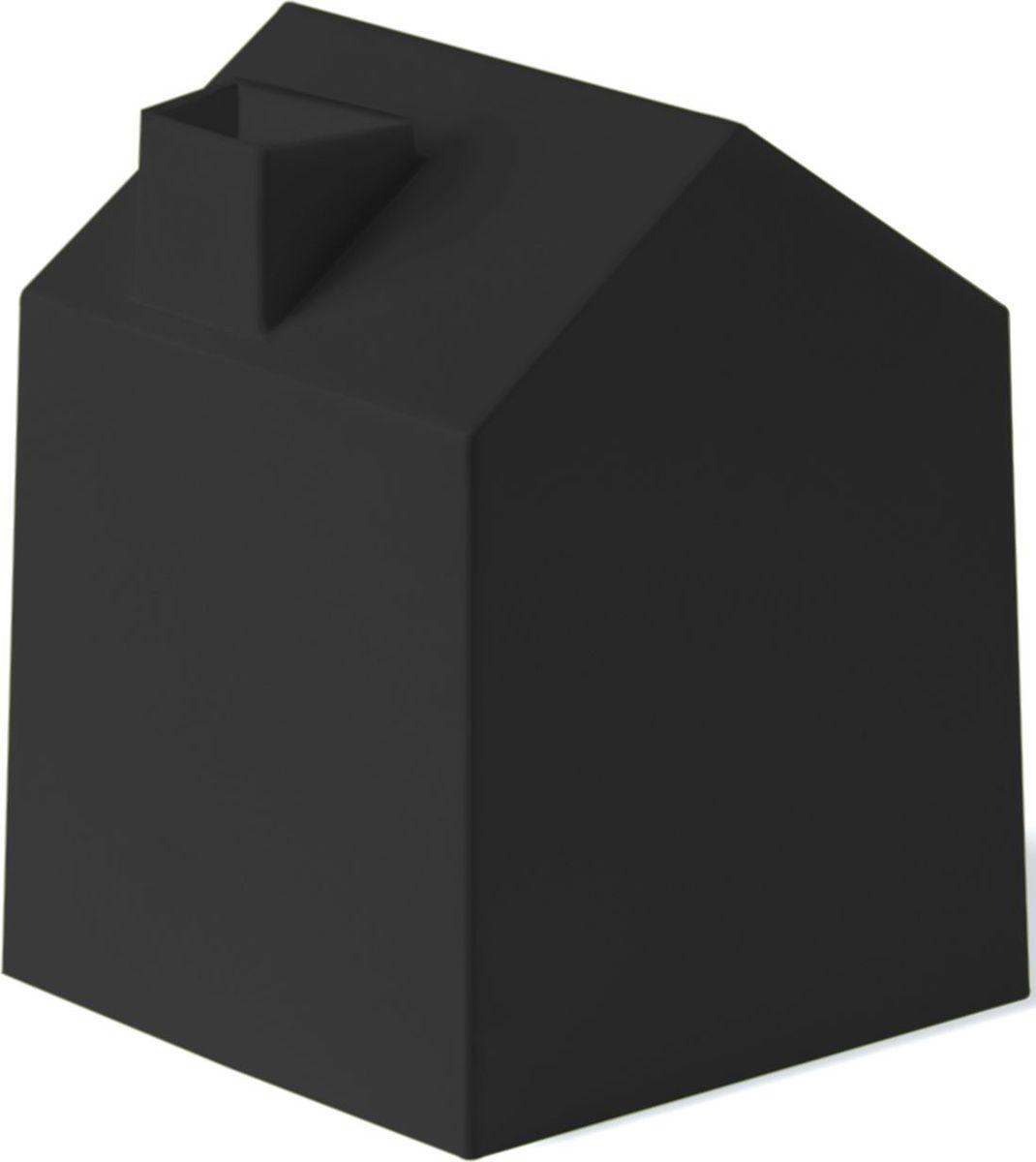 Бокс для салфеток Umbra Casa, цвет: черный, 17 х 13 х 13 см023340-040Салфетки всегда должны быть под рукой, а не разбросаны в сумке или на полке возле зеркала. Бокс многоразовый, как только салфетки закончатся, вам необходимо всего-навсего заложить новую упаковку внутрь. Благодаря яркому и красочному дизайну он впишется в любой и интерьер и будет радовать глаз долгое время.