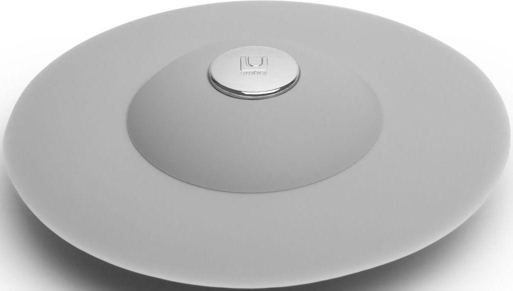 Фильтр для слива Umbra Flex, цвет: серый, 3,2 х 8,9 х 8,9 см023464-918Фильтр для слива Umbra Flex выполнен из высококачественного пластика. С помощью нажатия кнопки в центре, вода сливается через фильтр, задерживая в нём мусор. Нажмите на резиновые крылышки вокруг кнопки, и фильтр закроет слив, чтобы вы смогли наполнить ванну. Сочетается с другими аксессуарами из коллекции Flex.