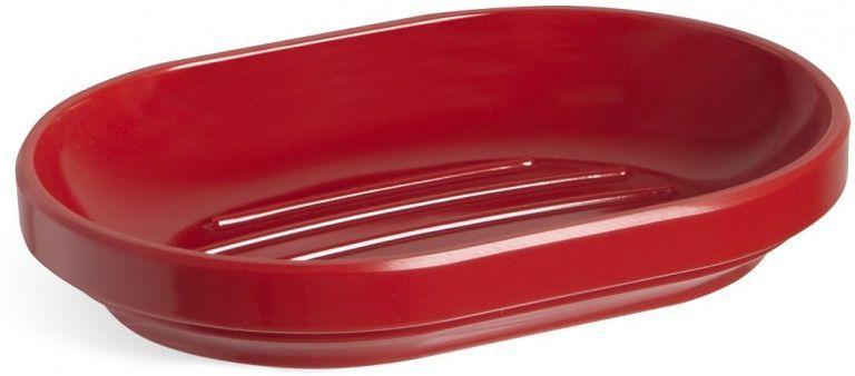 Мыльница Umbra Step, цвет: красный, 2,5 х 14,6 х 10,2 см023837-505Функциональность мыльницы неоспорима - именно она защищает нашу раковину от мыльных подтеков и пятен. А как насчет дизайна? В Umbra уверены: такой простой и ежедневно используемый предмет должен выглядеть лаконично, но необычно. Ведь в небольшой ванной комнате не должно быть ничего вызывающе яркого. Немного экспериментировав с формой, дизайнеры создали мыльницу Step, которая придется кстати в любом доме!Размеры: 14,6 х 2,5 х 10,2 см