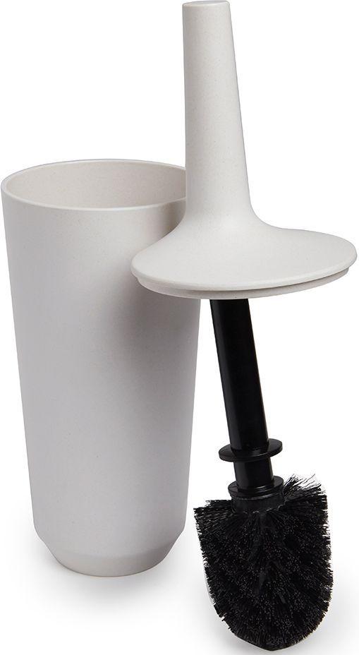 Ершик для унитаза Umbra Fiboo, цвет: экрю, 39,8 х 11,8 х 11,8 см023876-354Ершик для унитаза Umbra Fiboo изготовлен из комбинированного материала (меламин и бамбуковое волокно), который отличает экологичность, износостойкость и уникальный матовый эффект. Благодаря лаконичному дизайну будет гармонично смотреться в любой ванной комнате.Удобен в использовании благодаря эргономичной конструкции.Размеры: 39,8 х 11,8 х 11,8 см