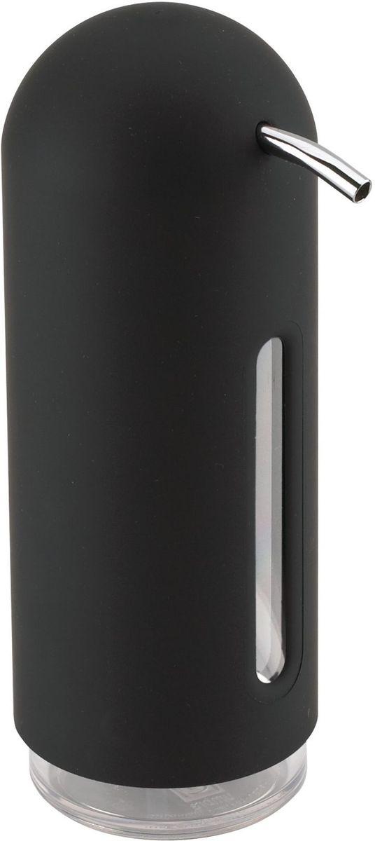 Диспенсер для жидкого мыла Umbra Penguin, цвет: черный, 19 х 6 х 6 см стакан для ванной umbra droplet цвет дымчатый 9 3 х 9 6 х 9 6 см