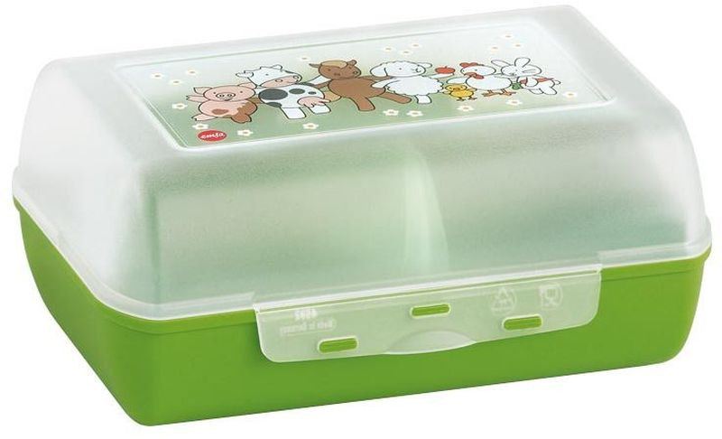Ланч-бокс Emsa Farm Family Variabolo, с разделителем ланч бокс emsa bento box 513959