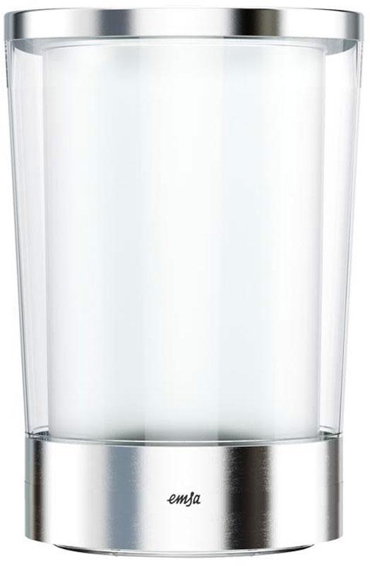 Ведро для охлаждения бутылок Emsa Flow Slim, цвет: белый, стальной514234Ведро Emsa Flow Slim предназначено для охлаждения любых алкогольных напитков. Выполнено в классическом белом цвете, имеет эргономичную форму, эффектный декор.Размер: 15 х 23,7 см.