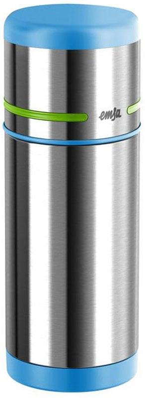Термос Emsa Mobility Kids, цвет: голубой, зеленый, 350 мл515864Термос Emsa Mobility Kids позволит насладиться вашему ребенку любимым напитком в школе, в походе, во время пикника или на прогулке. Термос имеет прочный корпус из нержавеющей стали. Модель снабжена герметичной пластиковой пробкой, которая предотвращает выливание содержимого. Крышка с внутренним пластиковым покрытием удобно завинчивается и может послужить в качестве чашки для напитков.Объем: 350 мл.