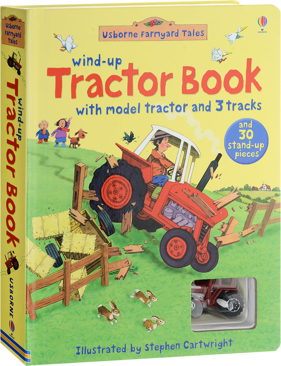 Farmyard Tales Wind-up Tractor Book (+ игрушка) foton lovol 800 804 824 tractor the main clutch fork part number ta820 212 01