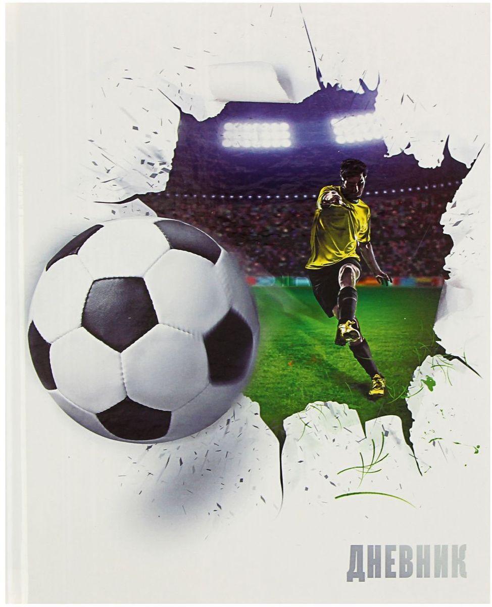 Calligrata Дневник школьный Футбольный мяч для 5-11 классов calligrata дневник школьный карта для 5 11 классов