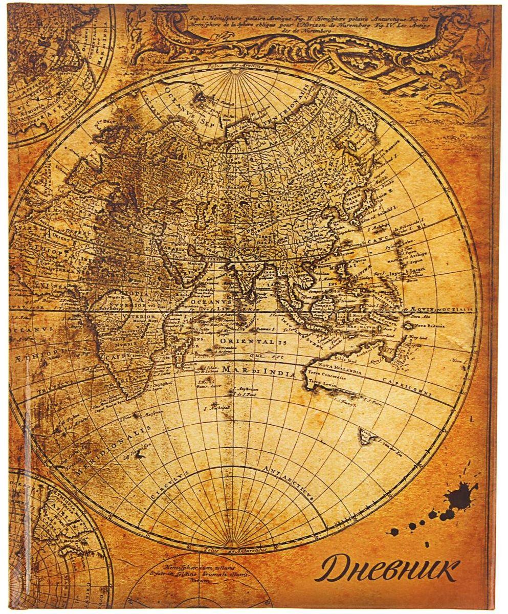 Calligrata Дневник школьный Карта для 5-11 классов спейс дневник школьный россия коллаж для 5 11 классов