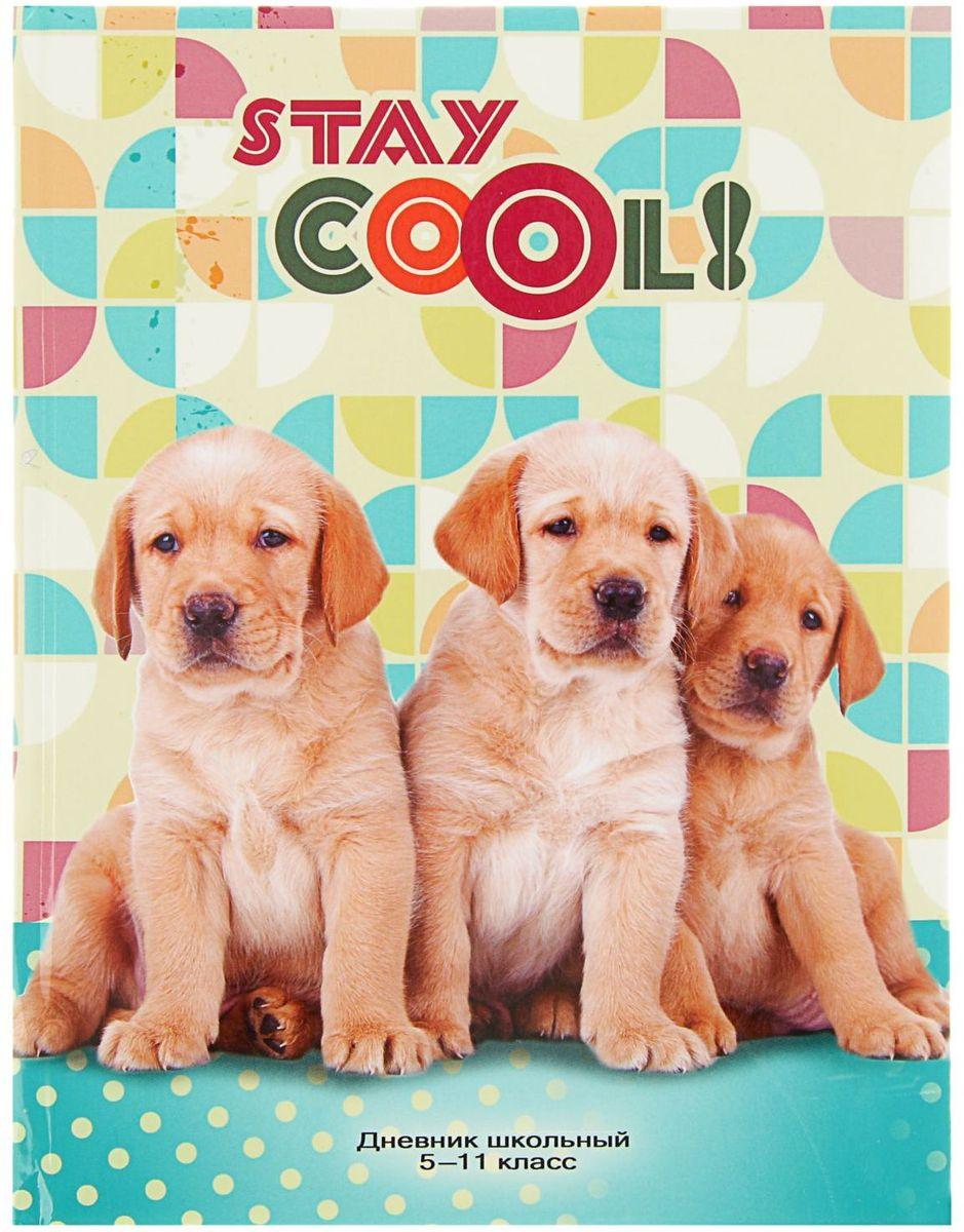Проф-Пресс Дневник школьный Классные щенки для 5-11 классов2093468