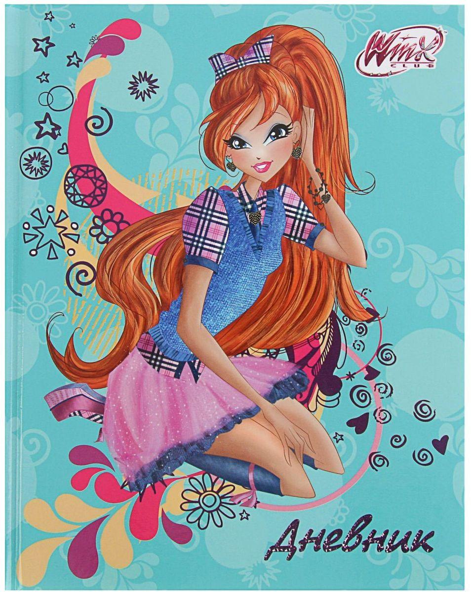 Winx Дневник школьный для 1-4 классов2228560Школьный дневник Winx в твердой обложке с глянцевой ламинацией поможет вашему ребенку не забыть свои задания, а вы всегда сможете проконтролировать его успеваемость.Внутренний блок дневника состоит из 48 листов белой бумаги с черной линовкой.Дневник станет надежным помощником ребенка в получении новых знаний и принесет радость своему хозяину в учебные будни.