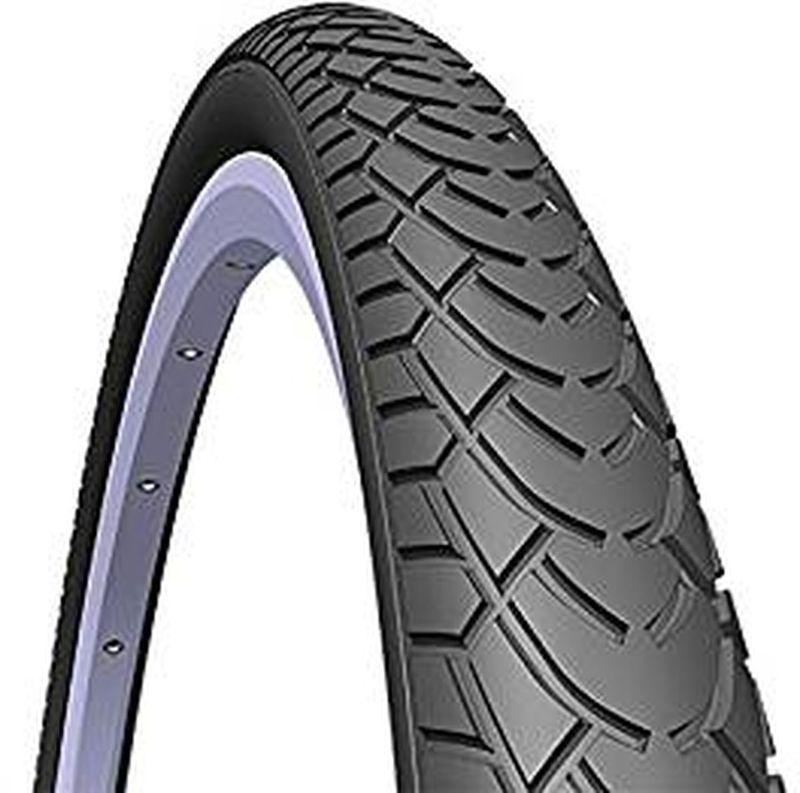 Покрышка велосипедная Mitas V41 Walrus, цвет: черный, 24 х 1,75 х 25-10952709-042Покрышка велосипедная Mitas V41 Walrus предназначена для использования на асфальтовом покрытии. Благодаря специальному строению своего протектора она имеет отличный накат и хорошее сцепление. Также можно съехать на укатанную, сухую грунтовую дорогу, однако сцепление с поверхностью будет не максимальным.Обратите внимание: это только покрышка (не колесо в сборе).Наружный диаметр покрышки: 24 (61 см). Высота сечения покрышки: 1,75 (4,45 см). Ширина сечения покрышки: 2 (5 см).
