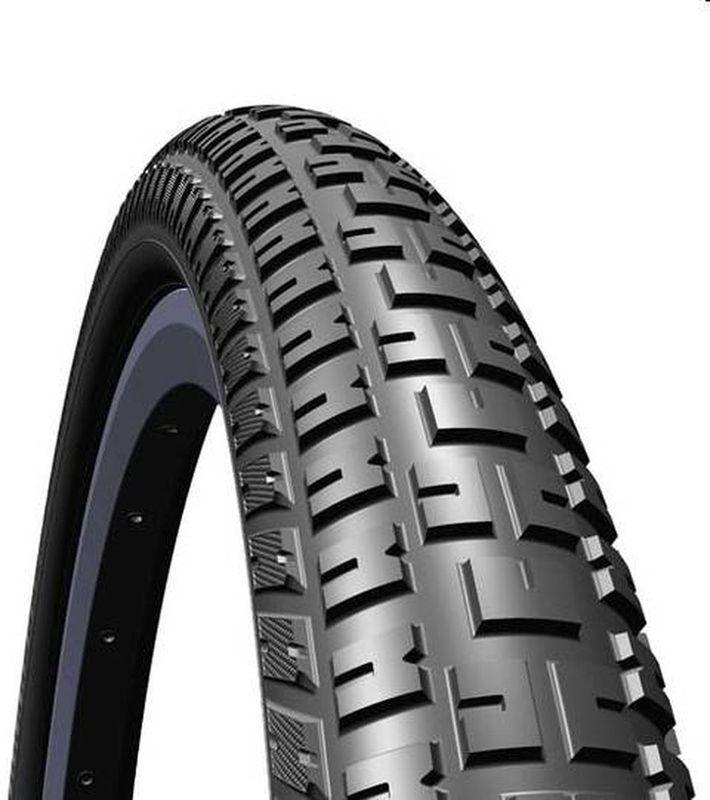 Покрышка велосипедная Mitas V93 Defender, цвет: черный, 26 х 2,35