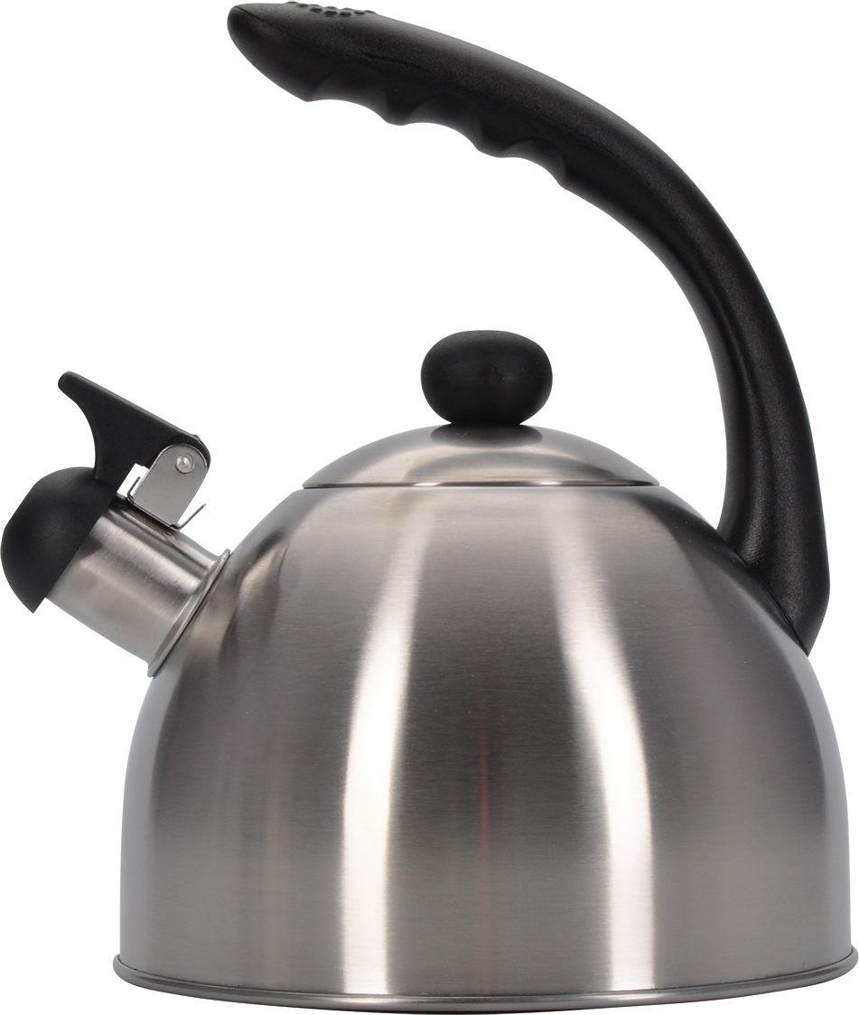 Чайник Regent Inox Promo, со свистком, 1,8 л. 94-150194-1501Чайник Linea PROMO подходит не только для того, чтобы вскипятить воду и напоить вкусным чаем своих родных, но и для украшения вашей кухни, Материал нержавеющая сталь с матовым полированием , стальнаяручка с бакелитовой вставкой. многослойное капсулированное днообладает массой достоинств, например, высокая теплопроводность, которая и обеспечивает быстрое закипание,Нержавеющая сталь также стойка к коррозии и кислотам, прочна и долговечна. Чайник подходит для всех видов плит иегоможно мыть как вручную, так и в посудомоечной машине.
